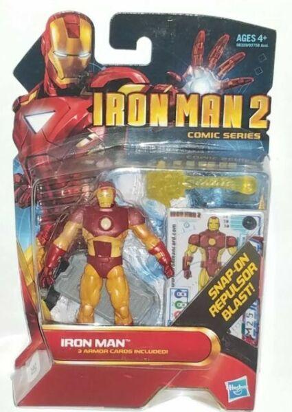 IRON MAN 2 Classic Armor #30 MARVEL UNIVERSE COMIC SERIES AVENGERS LEGENDS LOOSE