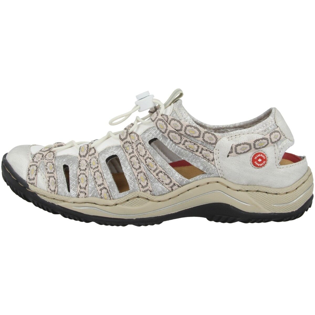 Rieker Caprina-Alabama-Wintu-Scuba Schuhe Antistress Sling Sandalen L0577-80