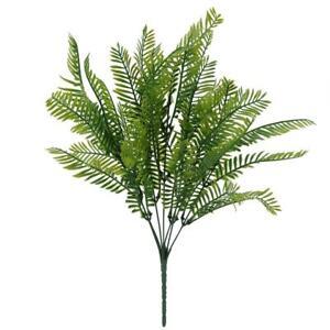 Artificial-Leaves-Plants-Fake-Vivid-Plastic-Persian-Grass-Fern-Home-Decor-JF-E