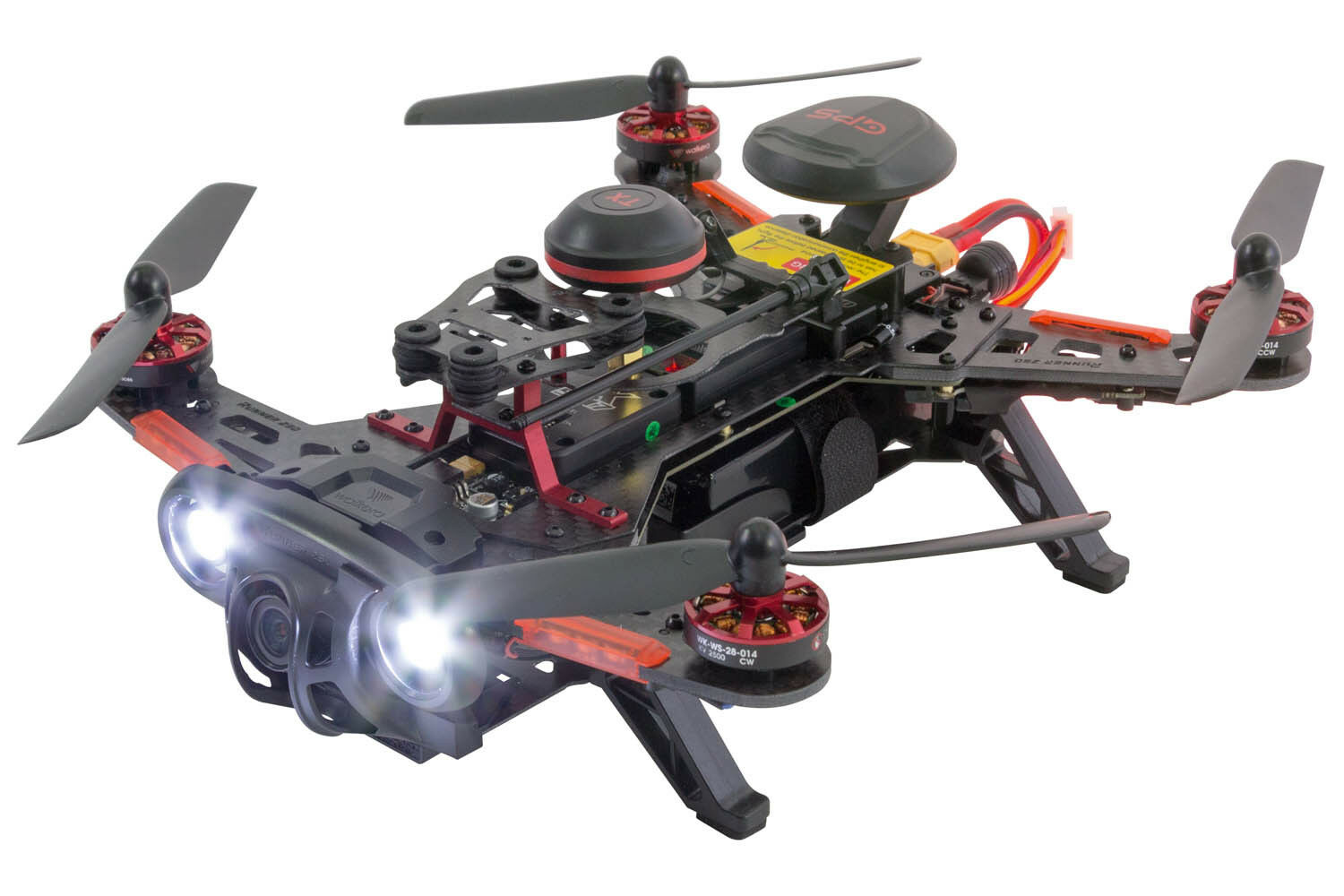 Xciterc FPV racing-quadrocopter Runner 250 Advance RTF-FPV-robot con full HD