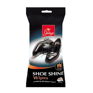 40-Pack-Jump-Shoe-Shine-Cleaning-Wipes-Shoes-Clean-Trainers-Leather-Boots-Polish