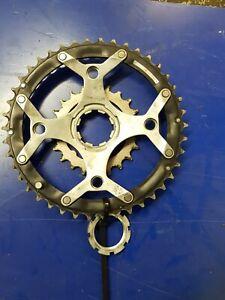 Retro-MTB-parts-Shimano-Deore-LX-Triple-Crankset-Cranks-parts-ring-42-22