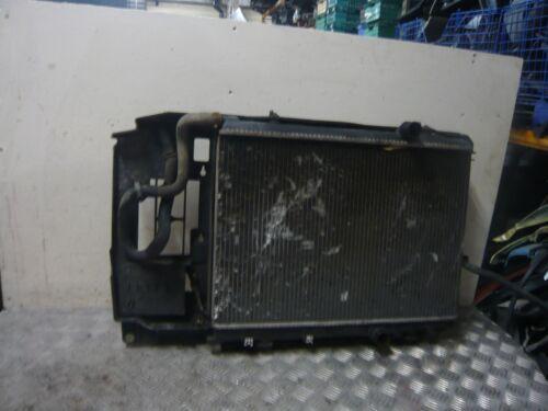 CITREON BERLINGO VAN SWB 1.9D 2005 RADIATOR PACK INCLUDES COOLING FAN /& HOUSING