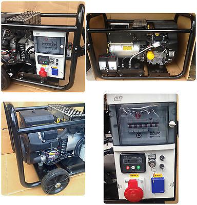 15 kVA 230 400 V Kohler Benzin petrol Notstromaggregat Stromerzeuger