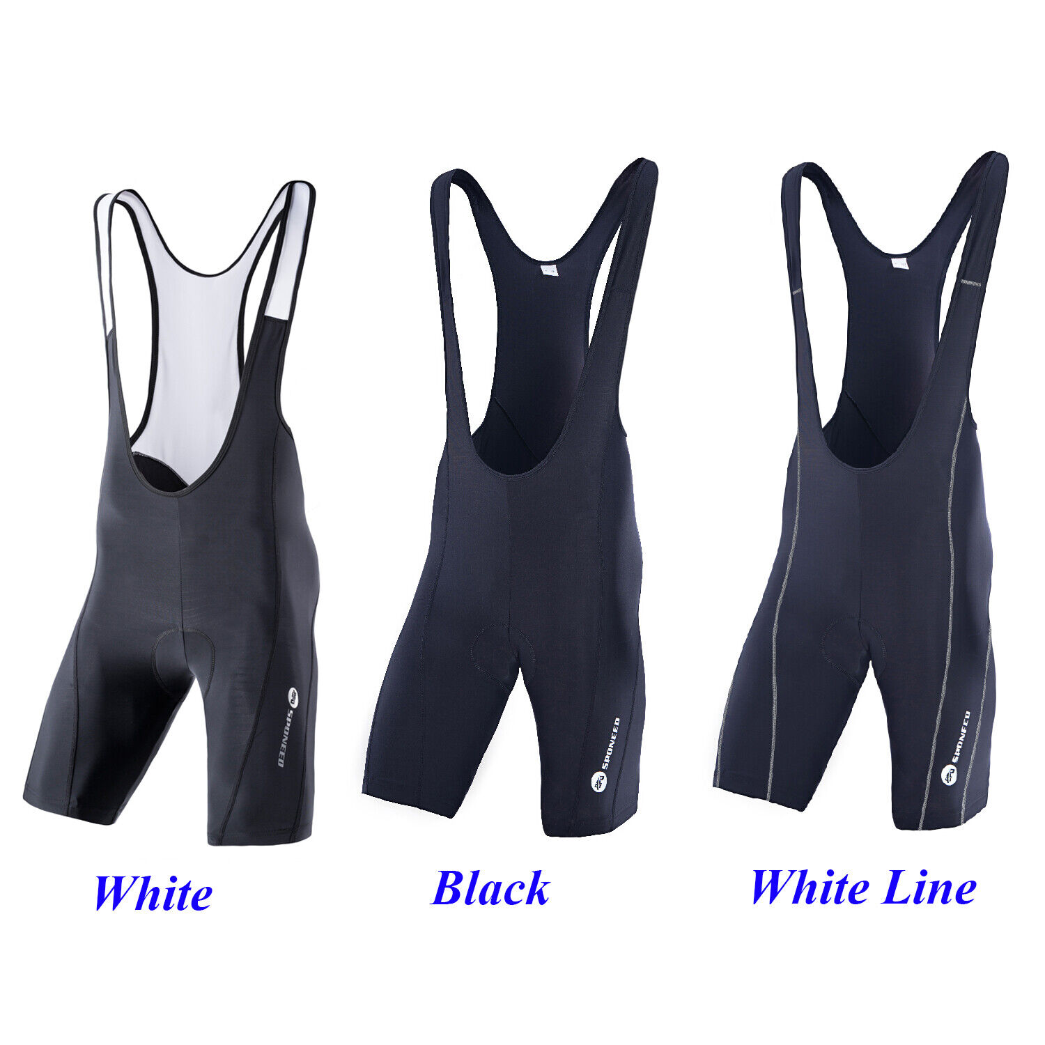 Cycling Bib Shorts for Men Race Fit Stretchy Spandex Bibs Smooth Pro Bike Tights