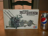 Ww2, German- 20mm Flakvierling 38, Antiair-craft Gun, Model Kit, Scale:1/35