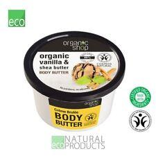 Organic Shop Body Butter Creme Brulee Organic Vanilla & Shea Butter 250ml