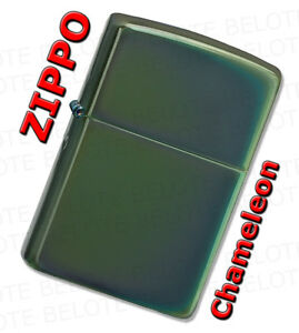 Zippo Chameleon Chrome Windproof Lighter 28129 **NEW**