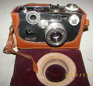 Argus C3 Brick Camera 50mm Lens f3.5 Rangefinder Coated Cintar 1940's