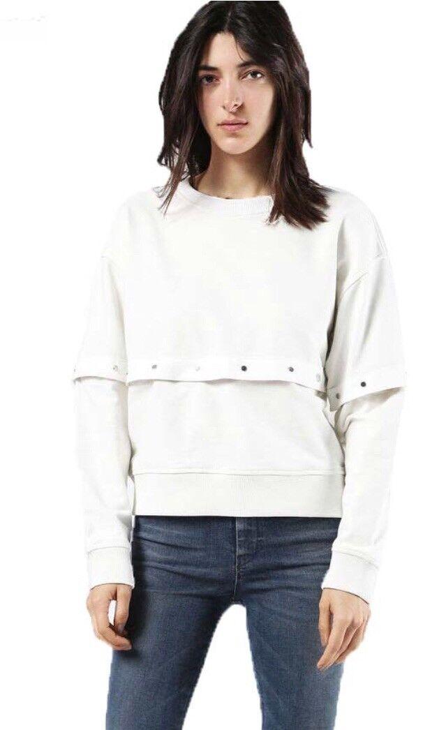 Diesel Womens F Corin Sweatshirt Size S