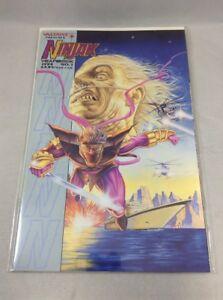 Ninjak-Yearbook-1-Valiant-Comics-December-1994-VF-NM-Bryan-Hitch-Cover