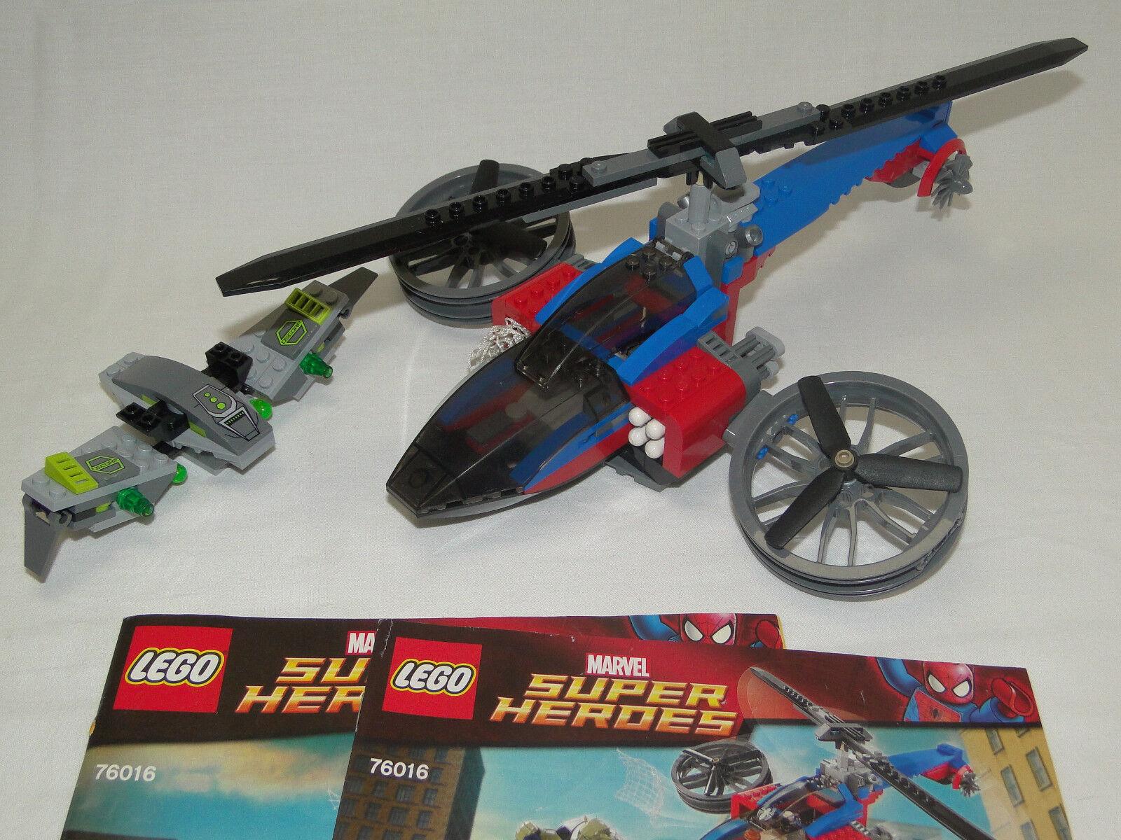 Lego Lego Lego Marvel Super Heroes 76016 Rettung Spider Helicopter mit OBA ohne Figuren 997d96