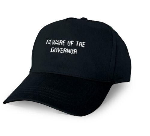 BEWARE OF THE GOVERNOR PERSONALISED BASEBALL CAP GOVERNOR XMAS GIFT CUSTOM