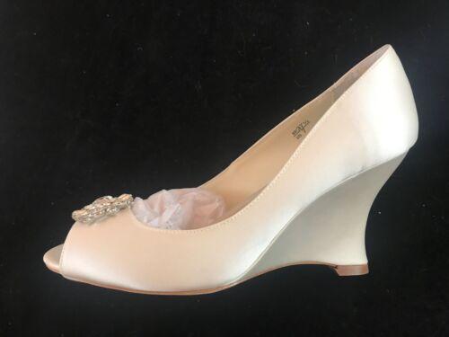 Wedding 3 Shoes Benjamin Ivory Silk Helen Adams Duchesse 3 Shoes Silk Duchesse Bnib Adams Ivory Bridal Wedding Helen Bnib Benjamin nYOUqx8
