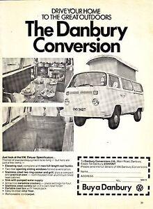 Original-Magazine-Advert-VW-T2-Danbury-Motorhome-1979-Good-Motoring-Conversion