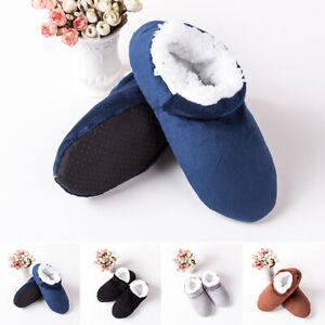 Men-Cozy-Fluffy-Plush-Indoor-Slippers-Floor-Socks-Non-Slip-Bedroom-Shoes-Sandals