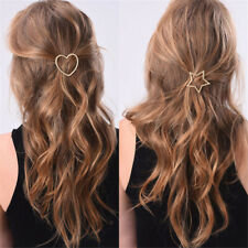 Women Heart Devil/'s Eye Geometry Vintage Hairpin Stick Bobby Pin Hair Clip