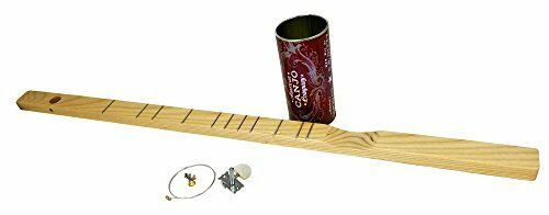 One-string Canjo Tin Can Banjo Kit DIY Music Instrument for Children /& Adults