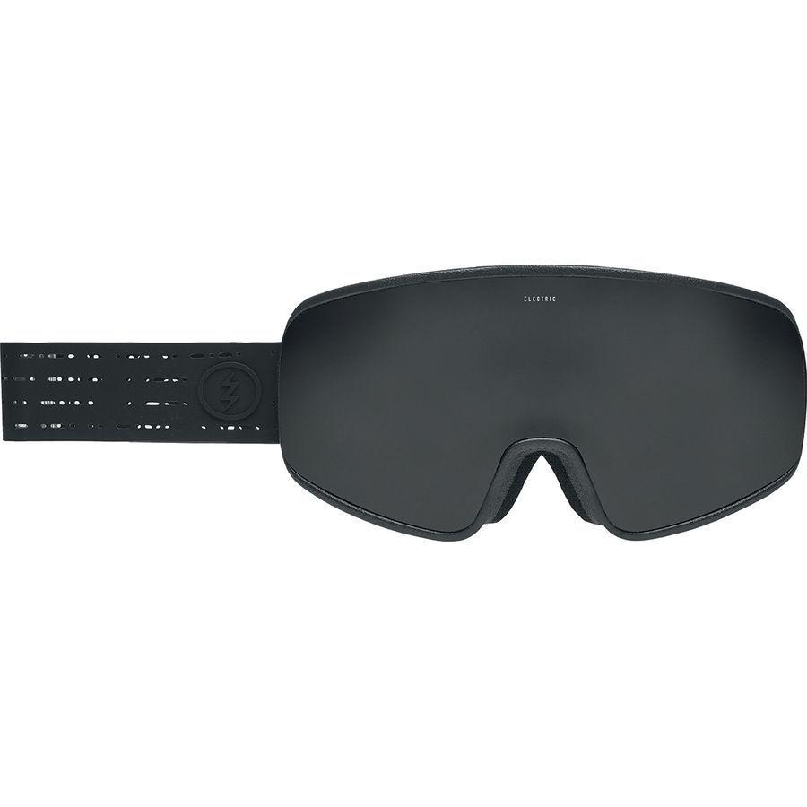 Elektrisch Visuell Electrolite Mattblack white Snowboard Brille (Tiefblack)