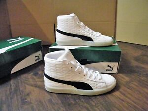 best loved 63ed1 f771c Details about KIDS PUMA BASKET CLASSIC MID EMBOSS JR CASUAL SHOES NIB 6Y 7Y  YOUTH JUNIOR