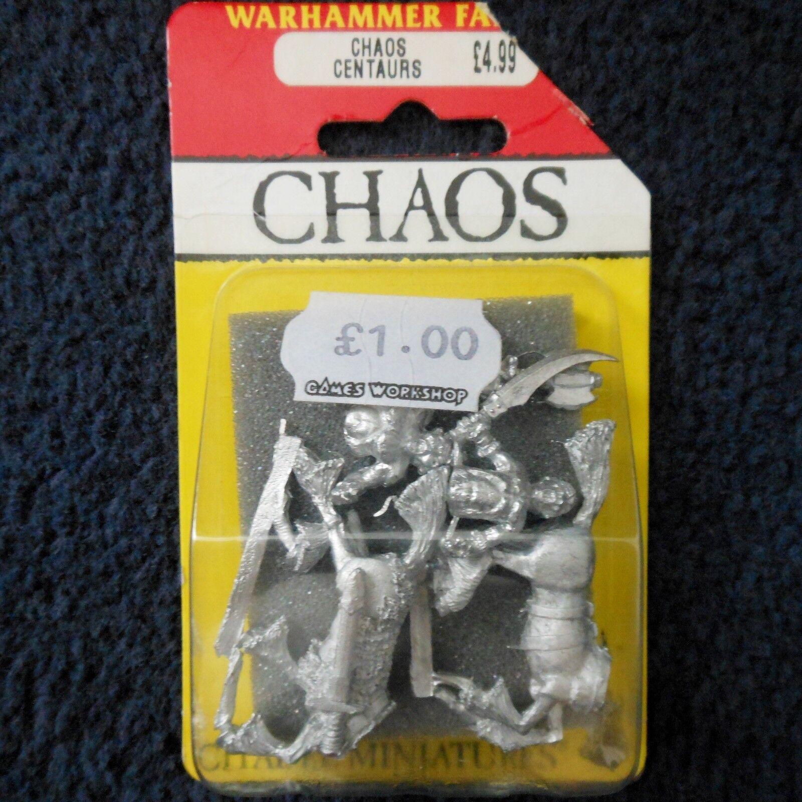 1987 Caos Centaur 0214 CH4 CITADEL WARHAMMER CAVtuttiERIA Dungeons e  Dragons Nuovo di zecca con scatola  vendita scontata online di factory outlet