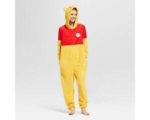 4347a6ddaa99 Image is loading Winnie-the-Pooh-Costume-Union-Suit-Pajamas-Women-