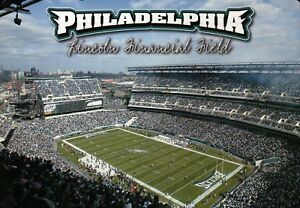 info for 4901d 07907 Details about Lincoln Financial Field, Philadelphia Eagles - Beautiful 5 x  7 Stadium Postcard