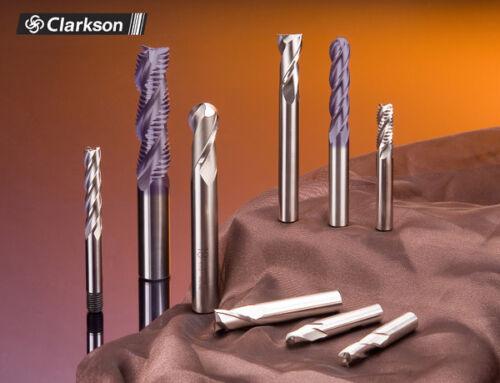 4.5mm COBALT FC3 END MILL HSSCo8 3 FLUTED EUROPA TOOL CLARKSON 3281020450  B17
