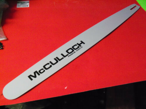 """NEW MCCULLOCH 28/"""" HARDNOSE BAR 3//8 050 FITS 10 10 610 PM55 700 800 850 89505"""