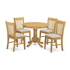 5-Piece Dinette Table Set - Small Kitchen Table And 4 Dining Chairs NEW