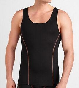 reserva Sacrificio ligado  Sloggi Sculpture X under armour 2nd skin semi compression vest sports gym  top | eBay