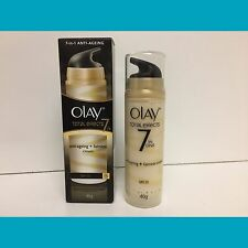 Olay Total Effects 7 in 1 Anti Aging Fairness Cream Moisturizer SPF15  Exp.03/16