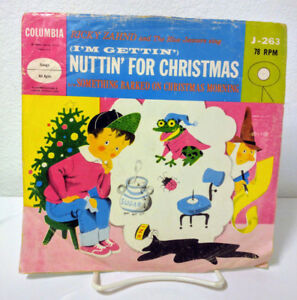 Nuttin For Christmas.Details About Ricky Zahnd I M Gettin Nuttin For Christmas Columbia J 263 G Vg Vg