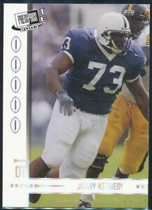 2003-Press-Pass-JE-Tin-Football-Card-CT22-Jimmy-Kennedy