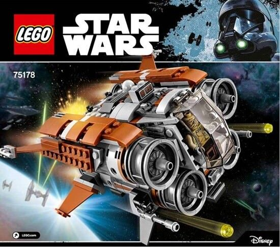 Lego 75178 Set Jakku Quadjumper Star Wars Episode 7 mit Rey BB-8