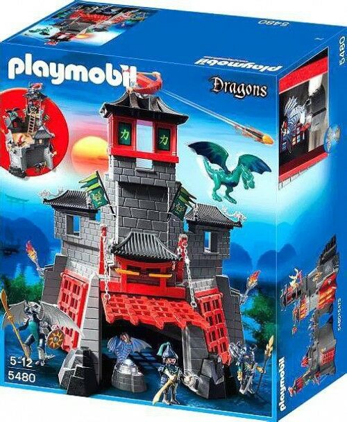 Playmobil Dragons Secret Dragon Fort Set