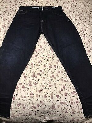 NWT Banana Republic White Oak Cone Denim Selvedge Jeans SLIM Indigo Wash Trooper