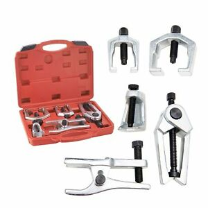 DHA 6pc Front End Service Tool Kit Ball Joint Separator Pitman Arm Tie Rod Puller