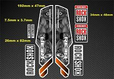 Rock Shox Reba  Style Suspension Fork Decal/Stickers rx08