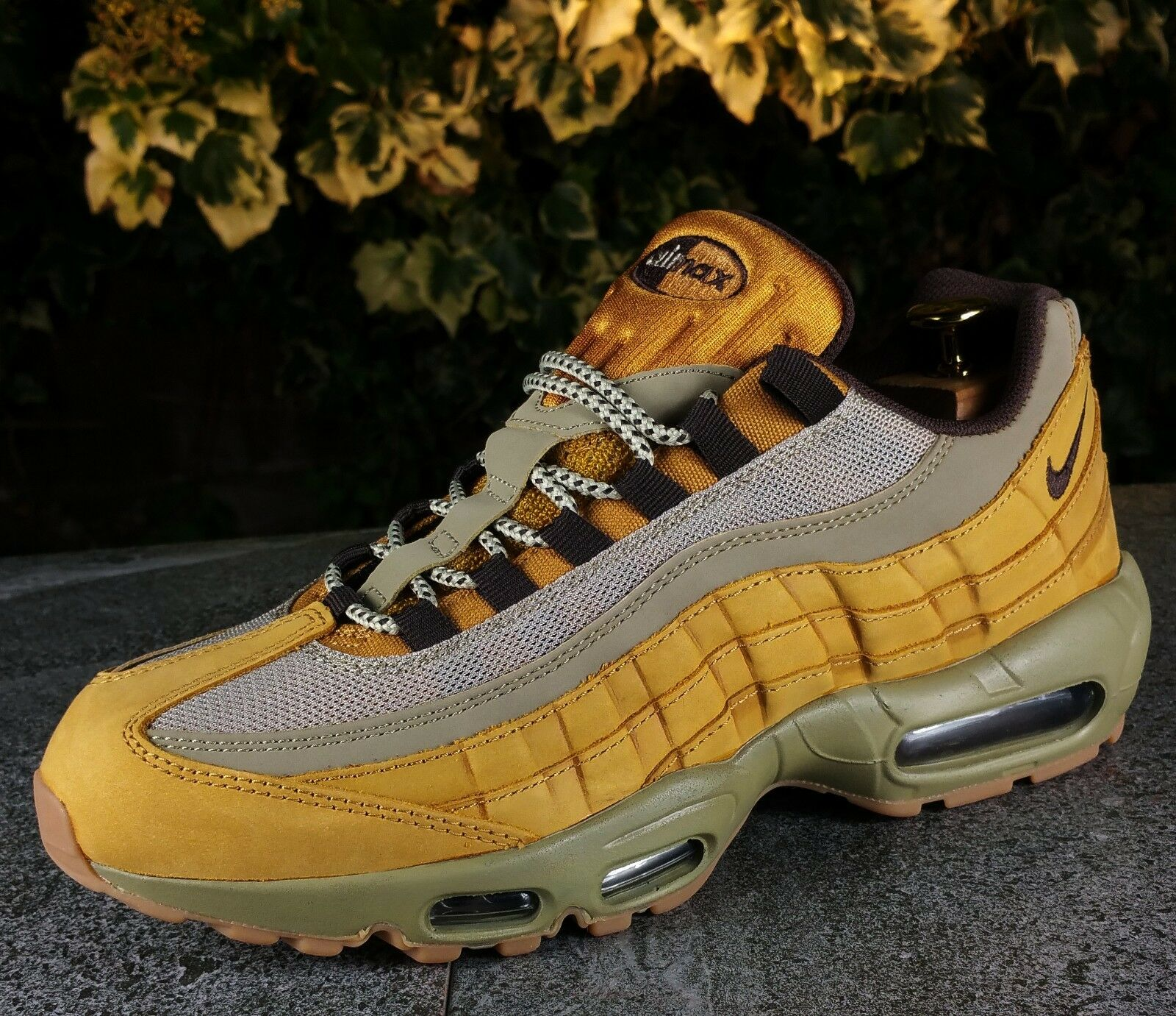 BNWB Genuine Nike Air Max 95 Winter Premium ®   Wheat Pack   Trainers UK Size 7