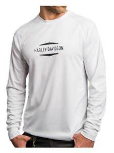 Harley-Davidson-Men-039-s-Solid-Future-Performance-Long-Sleeve-Shirt-5P32-HB4J