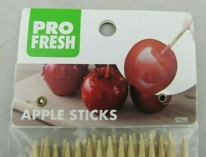 "Pro-Fresh Wooden Sticks For Caramel Apples Or Hobbies And Crafts 5.75/"" Long 90ct"
