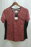 Womens Scrubstar Top Small S 100% Cotton Walmart Free Shipping Short Sleeve