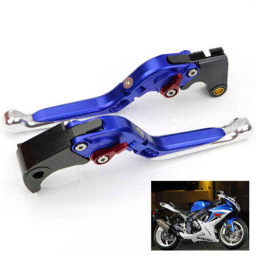 Brake Clutch Lever And Motorcycle Grips For 2001 2002 2003 GSXR1000 2001-2004 K1