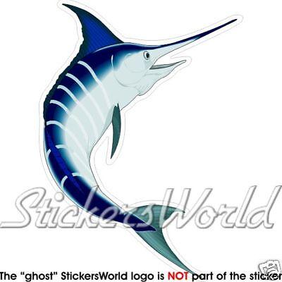 Pesce Marlin Blu Décalcomanie Pesce Spada 140 mm Adesivo in Vinile