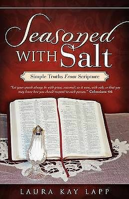 1 of 1 - NEW SEASONED WITH SALT by Laura Kay Lapp