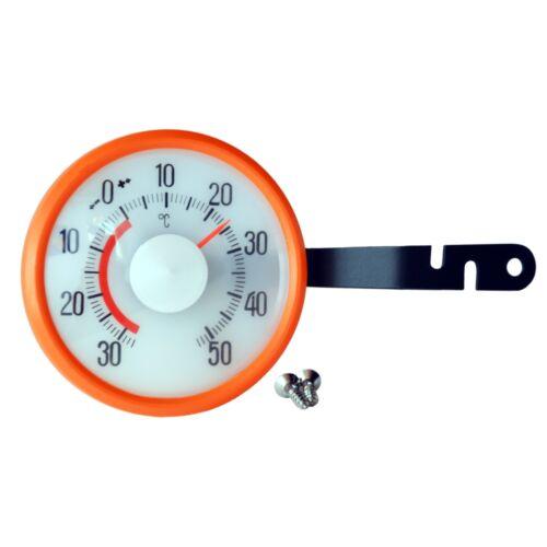 RICHTER Bimetall Thermometer aussen / innen mit Schraubhalter HR Art. 1913