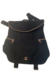 Sweaty-Betty-All-Sport-Backpack-Black-Rose-Gold-Yoga-Gym-Rucksack-Cycling-Bag