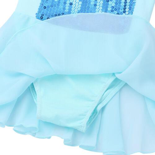 Girls Ballet Leotard Tutu Skirt Toddler Kids Princess Dress Dance Wear Costume