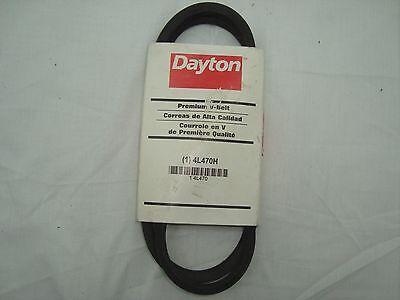"""1//2/"""" W x 43/"""" L V-Belt 1 Rib 4L430 DAYTON 4L430"""